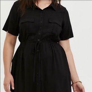 NWOT Torrid Black Dress